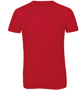 B&C Triblend Men's T-Shirt in red