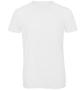 B&C Triblend Men's T-Shirt in white