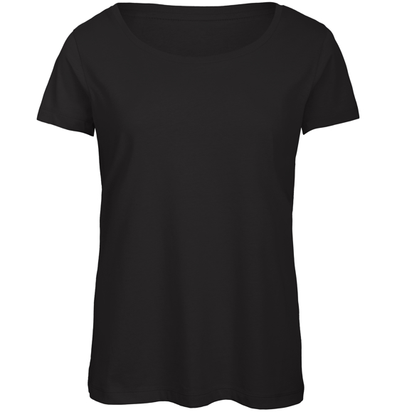 B&C Triblend Women's T-Shirt in black