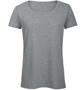 B&C Triblend Women's T-Shirt in grey