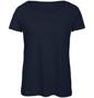 B&C Triblend Women's T-Shirt in dark navy
