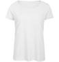 B&C Triblend Women's T-Shirt in white