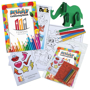 Children's Activity Packs showing all of the contents