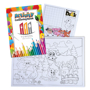 Children's Activity Packs showing colouring activity book