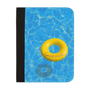 Full Colour A5 Conference Folder with full colour print picture of swimming pool and yellow rubber ring