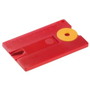 Key Pendant Card 'Anti Tick' in red