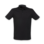 Men's Fashion Polo in black
