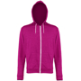 Men's Heather Zoodie in pink