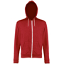 Men's Heather Zoodie in red