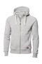 Men's Williamsburg Hooded Sweatshirt in grey with white drawstrings