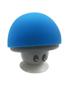 Mushroom Bluetooth Speaker Stand in blue and grey