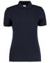 Women's Klassic Slim Fit Polo in navy