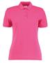 Women's Klassic Slim Fit Polo in pink