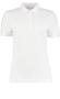 Women's Klassic Slim Fit Polo in white