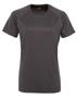 Women's TriDri® Panelled Tech Tee in grey