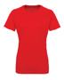 Women's TriDri® Panelled Tech Tee in red