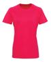 Women's TriDri® Panelled Tech Tee in pink