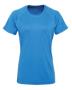 Women's TriDri® Panelled Tech Tee in blue