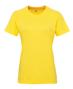 Women's TriDri® Panelled Tech Tee in yellow