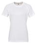 Women's TriDri® Panelled Tech Tee in white