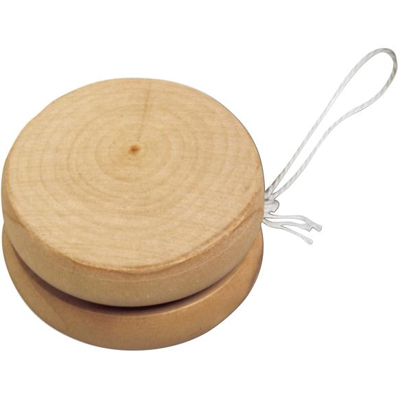 Wooden Yo Yo with white string