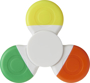 Fun tri twist highlighter in white with yellow, orange and green highlighters