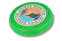 Turbo Pro Flying Disk in green with full colour print