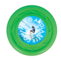 Antimicrobial Mini Turbo Flying Disc in green with full colour print