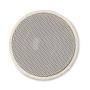 Wheat Straw Round Bluetooth Speaker in beige top view