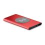 wireless powerbank in red