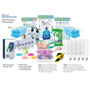 a selection of ppe and sanitising products