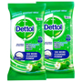 2 packs of dettol surface wipes