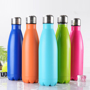 bright coloured insulated drinks bottle for hot drinks