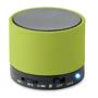 green round bass bluetooth speaker