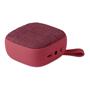 red square fabric bluetooth speaker