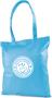 Tucana Shopper Bag with 1 Colour Print Light Blue