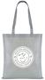 Tucana Shopper Bag with 1 Colour Print Grey