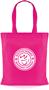 Tucana Shopper Bag with 1 Colour Print Pink