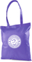 Tucana Shopper Bag with 1 Colour Print Purple