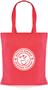 Tucana Shopper Bag with 1 Colour Print Red