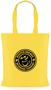 Tucana Shopper Bag with 1 Colour Print Yellow