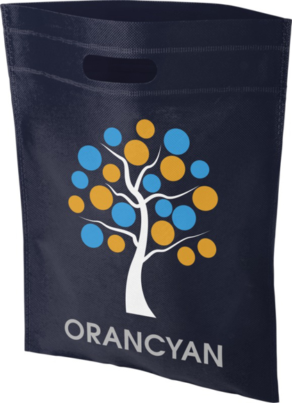 Non Woven Conference Bag with print Navy