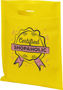 Non Woven Conference Bag with print Yellow