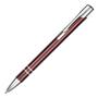 Beck Metal Pen in burgundy