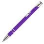 Beck Metal Pen in solid purple