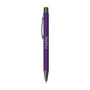 Bowie Softy Ballpoint Pen in purple with engraving
