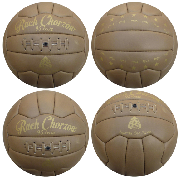 Vintage size 5 leather football with laces