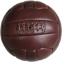Vintage Look Size 5 Football Made With Real Leather