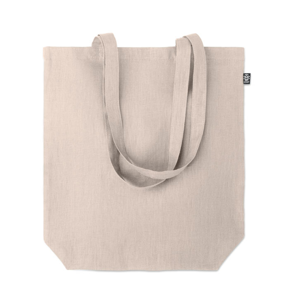 natural hemp shopper bag