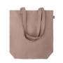 brown tote bag made from hemp